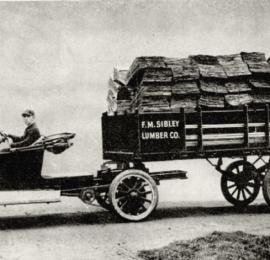 Первые автоприцепы появились 100 лет назад!